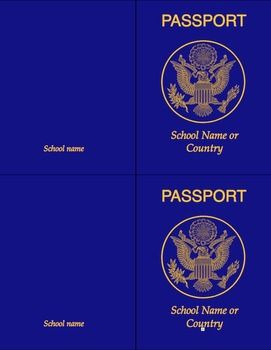 The 25 best passport template ideas on pinterest passports for a passport template for teaching about travel foreign languages cultures countries etc only for macs because it was created with iworks pronofoot35fo Gallery
