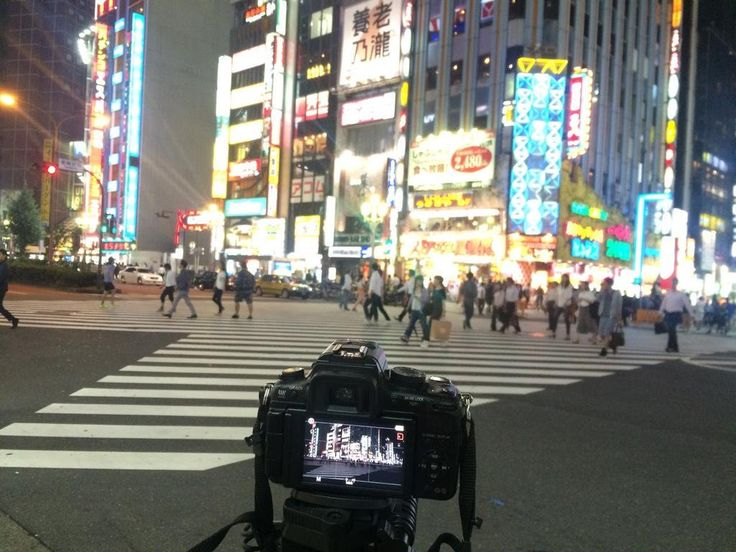 This time shooting  a #timelapse of #Kabukichō  #歌舞伎町 crossing. As always with my #lumix #gh2