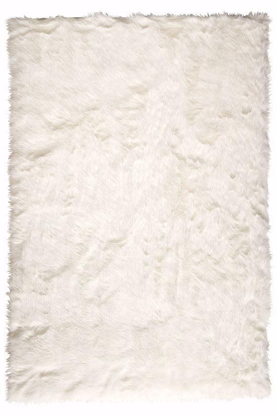 Faux Sheepskin Area Rug - HomeDecorators.com