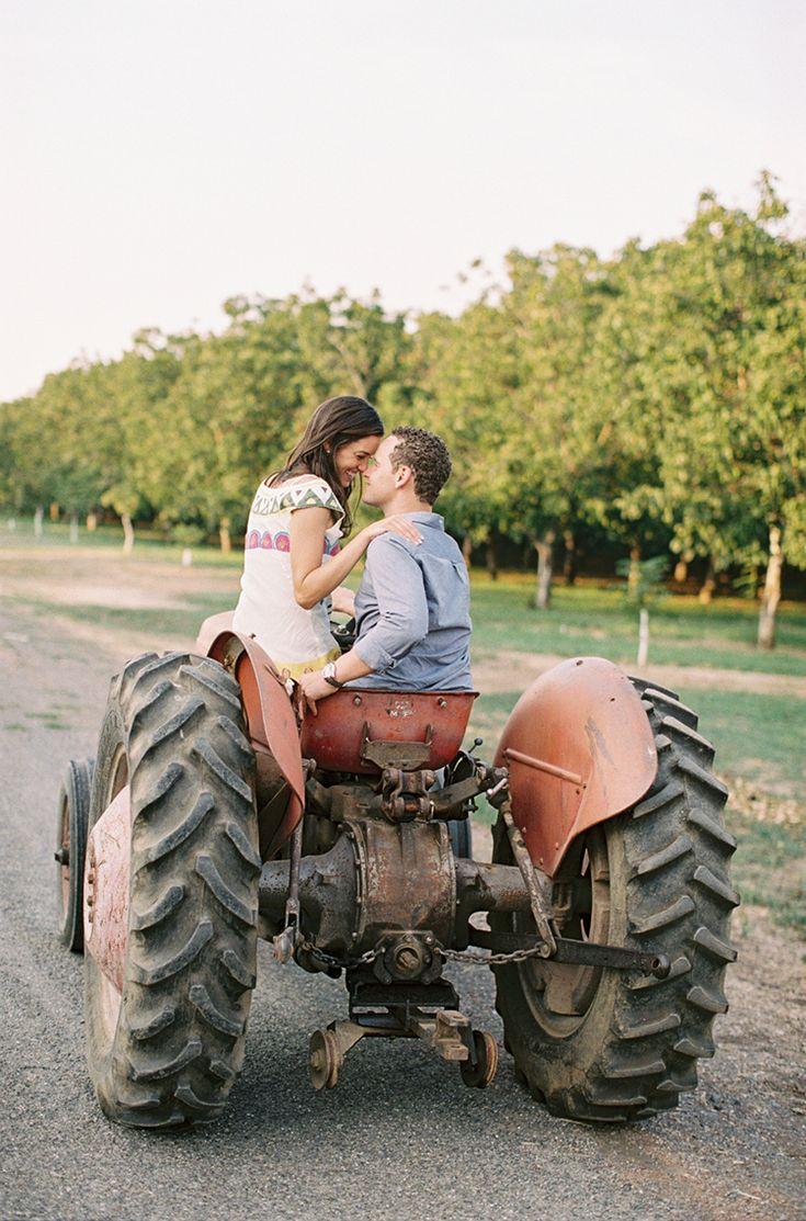 A Farm Engagement // jessica burke photography