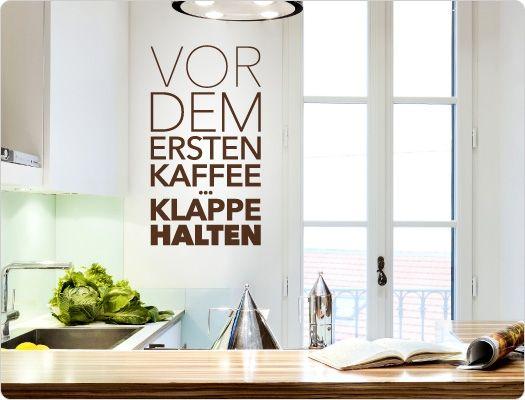 15 besten Lustige Kaffee Sprüche und Motive für die Küche Bilder ...