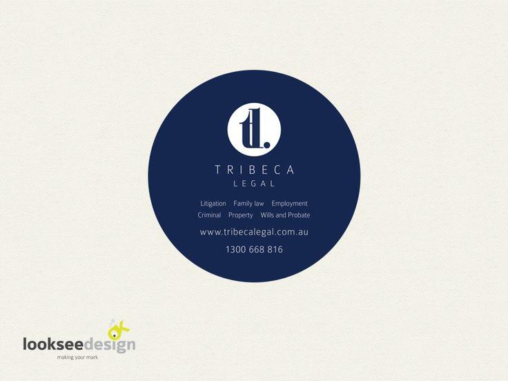 Drink Coaster for Legal Firm - Designed bt Looksee Design