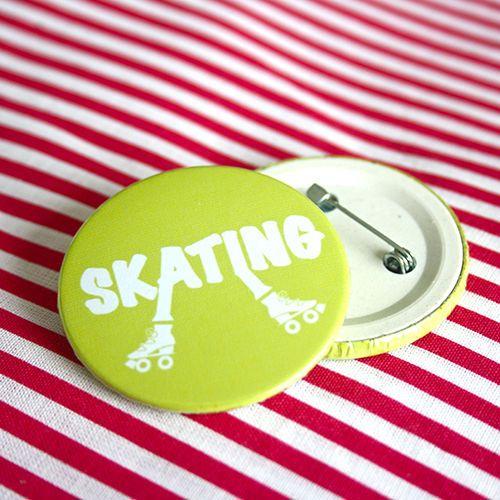 Bottom: Patins skating verde 3,5cm - R$2,00   4,5cm - R$3,00 Skating botton