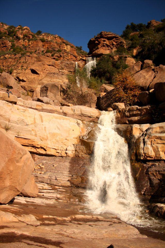 Waterfalls of Ventura County, California, USA