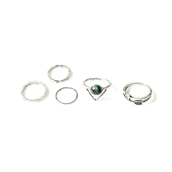 """Ringen set """"Silver Arrow"""""""