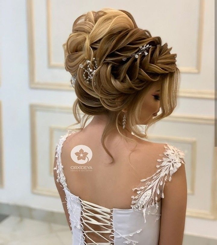 Pin By Marina On Coiff Chignon Technique Coloration Crants Beautiful Wedding Hair Pretty Hairstyles Wedding Hairstyles
