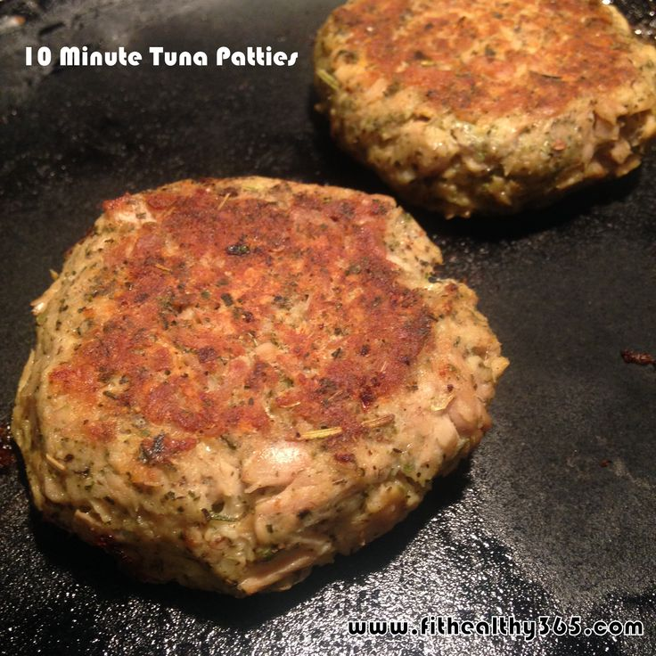10-Minute Easy Tuna Patties {Recipe}