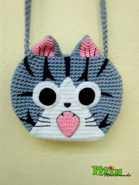 Luty Artes Crochet: Bolsa infantil de crochê                                                                                                                                                     Mais