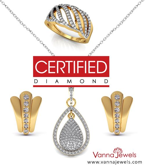 Vanna Jewels Authentic Jewelry Collection Set in Solid Yellow Gold