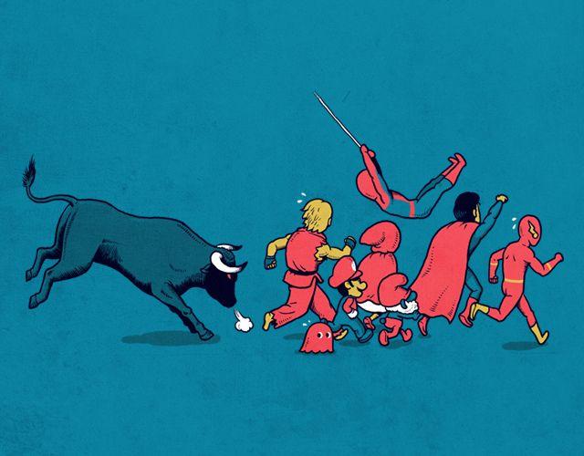 Nerd Illustrations by Ben Chen