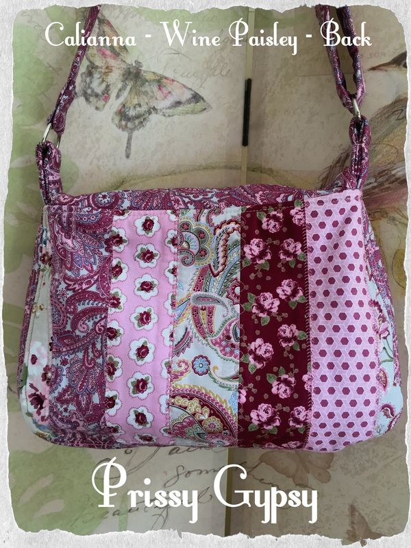 Calianna - Wine Paisley - Prissy Gypsy
