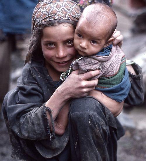 Warvan valley, Kashmir. La famiglia è universale.