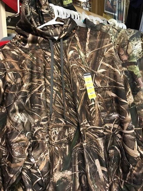 REAL TREE CAMO  Long Sleeve  Hoodie pullover  mens  XL NEW #REALTREE #LONGSLEEVEHOODIE