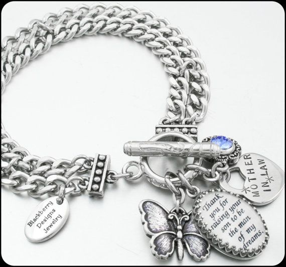 Hey, I found this really awesome Etsy listing at https://www.etsy.com/listing/191407063/mother-of-the-groom-bracelet-wedding