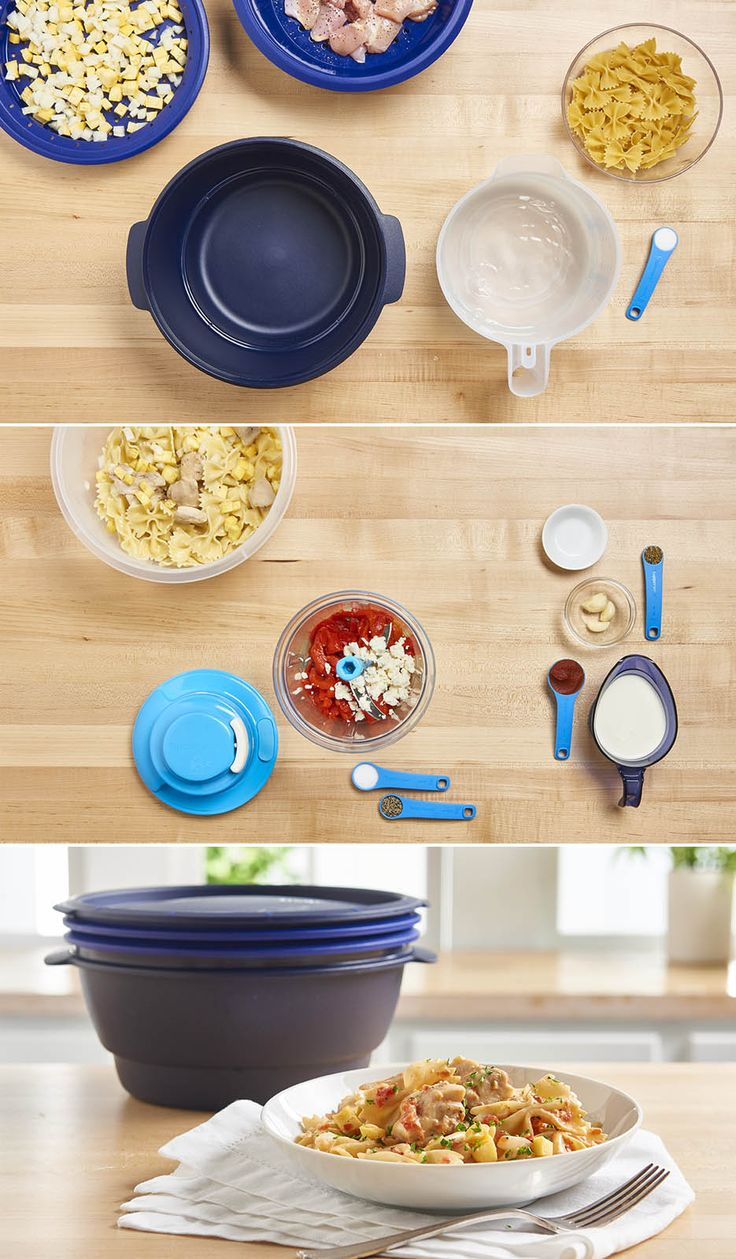 Dinner in a snap. Make complete meals in minutes with the new Tupperware® Smart Multi-Cooker.