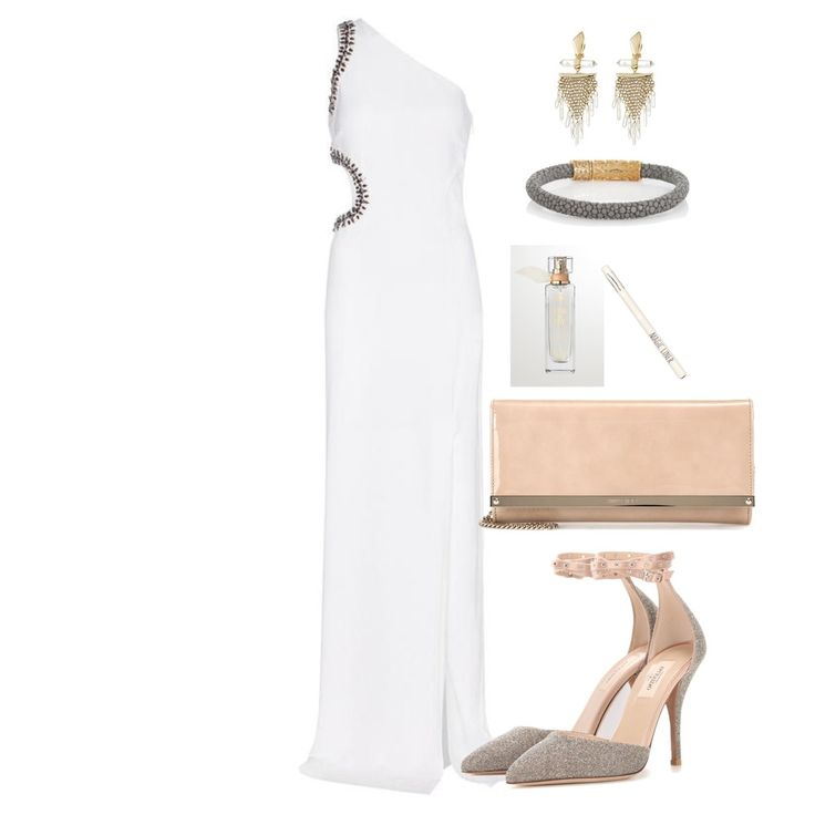 Evening Cocktail #RobertoCavalliDress #ValentinoShoes #JimmyChooClutch #AlexisBittarEarrings #NialayaBracelet #stylish #ladieswear #onlineshopping #fashionblogger_de #fashionblogger #fashion #instafashion #fashionista #ootd #trend #style #stylios #styleinspiration #modern #luxury #outfit