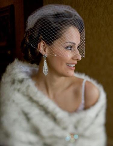 Winter glam-wedding