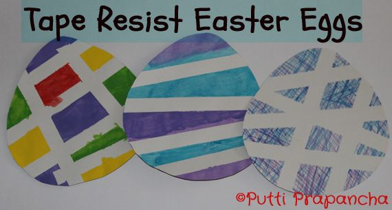 A simple activity for Easter that is easy to do and looks lovely too.