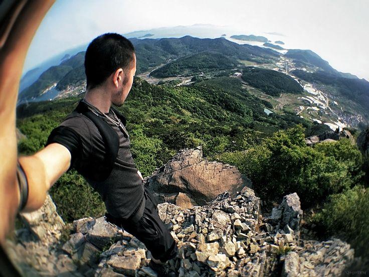 Vinjatek at the Tongyeong islands in Korea ///