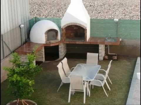 construccion de barbacoa y horno de leña.avi - YouTube                                                                                                                                                                                 Más