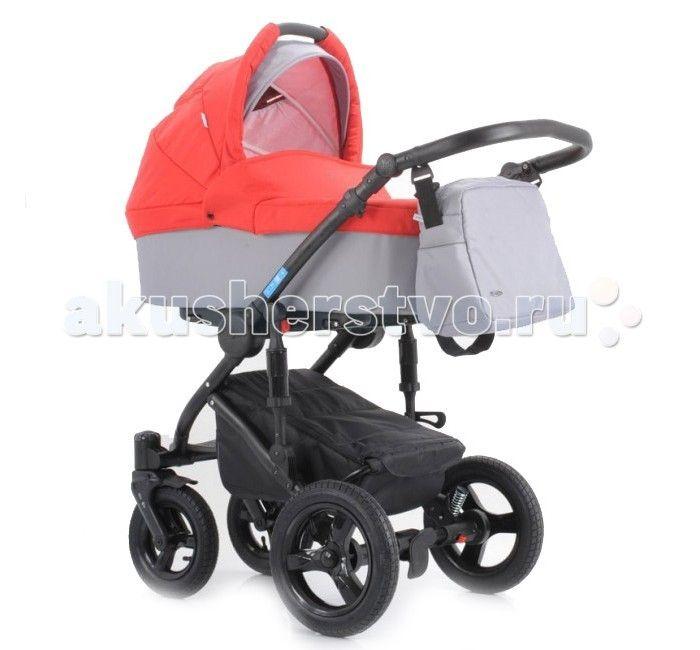 Коляска Aroteam Sigma 2 в 1  Детская коляска ARO Team Sigma 2 в 1 - универсальная модель для комфортных прогулок с рождения.  Современная легкая алюминиевая конструкция, оснащенная передними поворачивающимися колесами, значительно упрощает передвижение в узких проходах магазинов. В более сложных условиях пересеченной местности можно заблокировать поворотный механизм колес, что упростит управление колясок.  Люлька: внешняя обивка - непромокаемая ткань регулируемое изголовье мягкая обивка из…