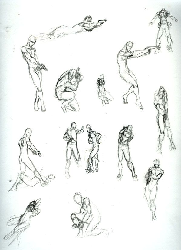 Male Action Poses 03-Hand Gun by Chilord on DeviantArt ...