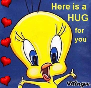 How About a big Tweety Bird hug