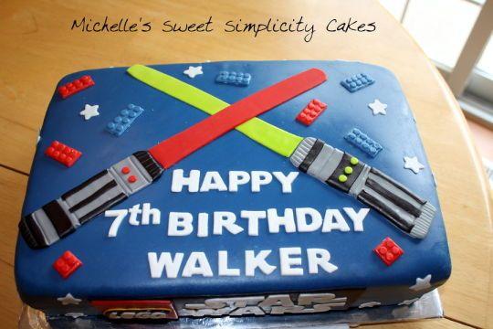 Lego Star Wars Birthday Cake - CakesDecor