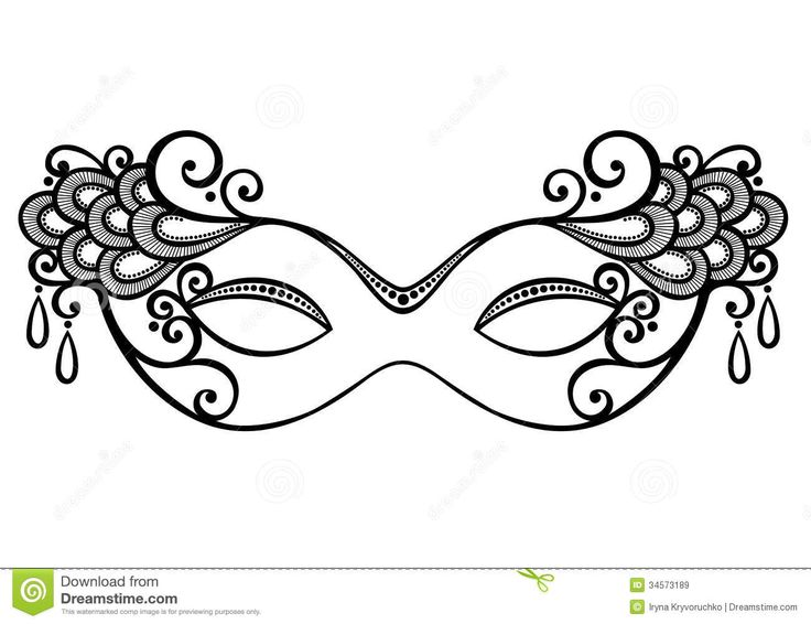 Best Mask Templates Images On   Masquerade Mask