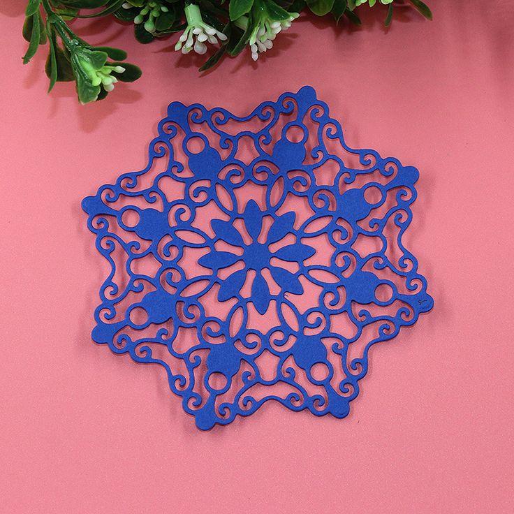 Снежинка Декор умирает резки металла умирает Рождество тиснение записки штампы крафт-бумага папку карты трафарет фотоальбом резак