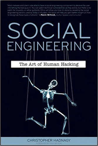 Hacking Books: Social Engineering: The Art of Human Hacking: Christopher Hadnagy, Paul Wilson