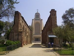 Templo Votivo de Maipú (Santiago de Chile).