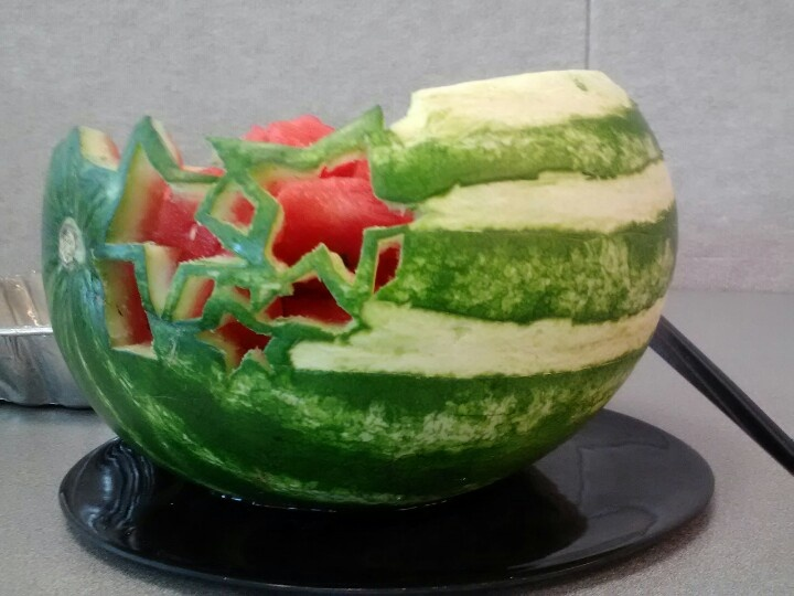 Best images about fruit and vegetable carving on