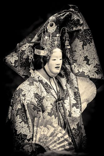 Japanese traditional Noh theater 能 by Stéphane Barbery