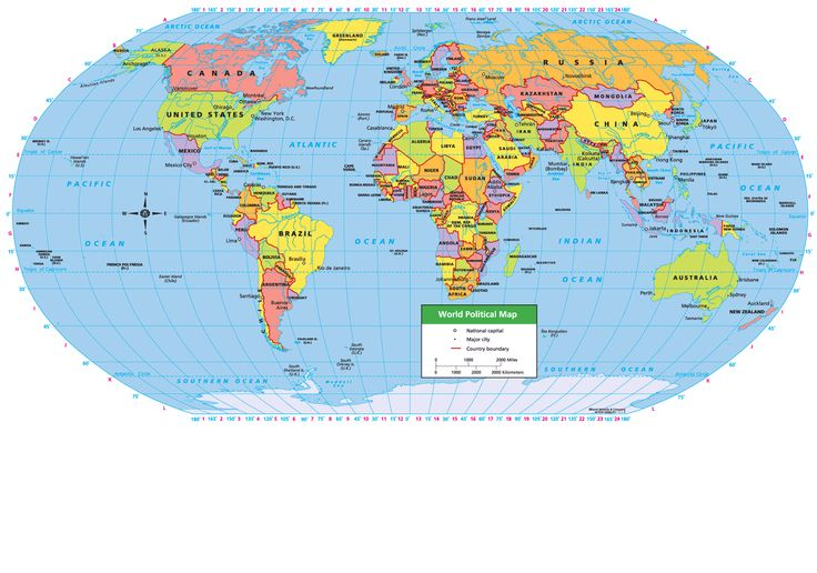 World Political Map Social Studies Maps Pinterest World World politic
