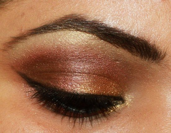 Bridal Eye Makeup Step By Step With Mac Mayhem Minearlize Eyeshadow