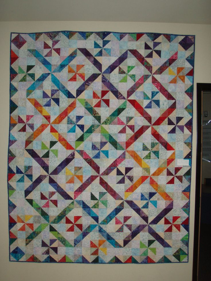 Free Quilt Block Patterns Pinwheel : 17 Best images about Quilts - Pinwheels on Pinterest Pinwheels, Patterns and Fabrics