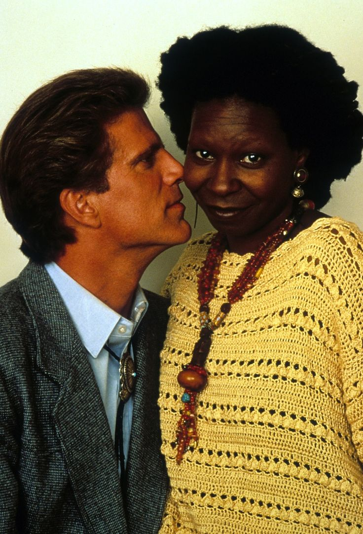 """The unlikely pair fell head over heels after working together on the set of 1992's Made in America. """"I'd walk in Whoopi's shadow for the rest of my life—I adore the woman,"""" Danson said. The romance prompted Danson to divorce his then-wife, Casey Coates, in 1993. - Photo: Getty Images"""