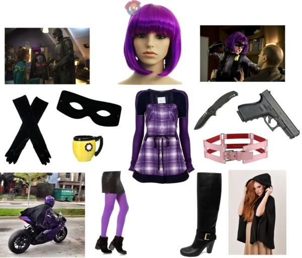 """Hit Girl Costume Ideas"" by ashleah on Polyvore"