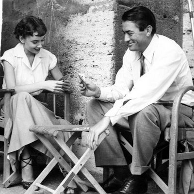 Roman HolidayRomans Holiday, Gregorypeck, Romanholiday, Audrey Hepburn, Movie, Audreyhepburn, Gregory Peck, Roman Holiday, Plays Cards