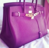 Of course it's Hermes- who knew!  This would definitely be a splurge- haha! The pink is selling for more than 25k.