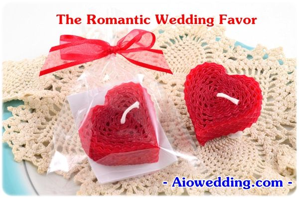 The Romantic Wedding Favor
