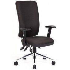 ChiroHighBack PostureChair Chiro High Back Posture Chair Available in Black or Blue Fabric Orthopedic