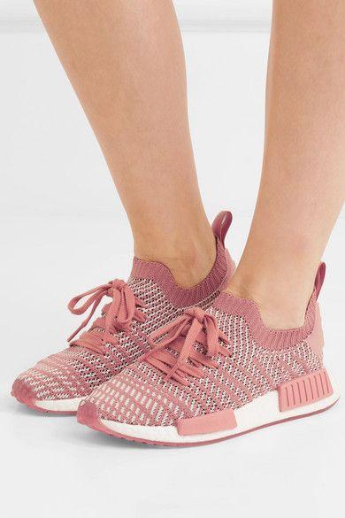new styles 214aa 08e17 adidas Originals   NMD R1 rubber-trimmed Primeknit sneakers    NET-A-PORTER.COM