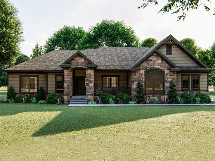 050h 0236 Empty Nester House Plan In 2020 Small Craftsman House Plans Empty Nester House Plans Craftsman House