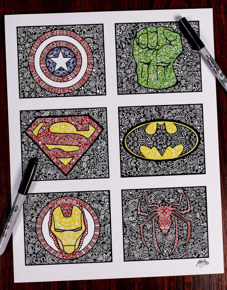 Zentangle SUPER by ZenspireDesigns on Etsy