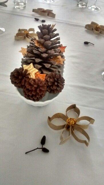 Centro de mesa de año nuevo o navidad. Facebook/smicasa