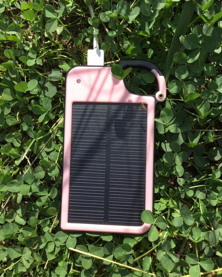 So excited this little thing arrived! Ive been waiting months. Its a solar phone charger I nabbed off of Groupon  it works great! #offgrid#solarpower#ipad