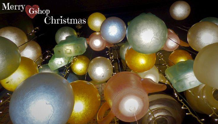 Καλημέρα Gshoppers, με Xmas spirit στο φουλ ♡ Ho ho ho🎅  Kλικ εδώ, για τις μονόχρωμες μπαλίτσες μας από fiberglass: http://gshopspot.gr/products.php?subcategory_id=18