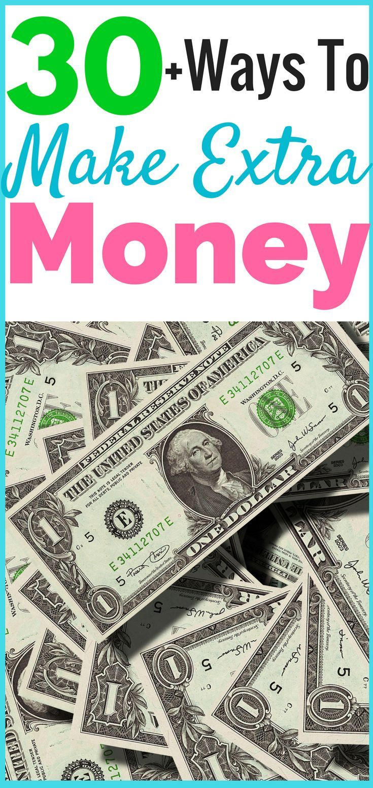 30 Best Ways To Make Extra Money | How to make money from home and online fast to increase your income and make more money for yourself. You can make money blogging or through websites and surveys that you get paid cash to do. This list will help you make money fast if you're in debt, a student, saving for a house or holiday. #money #finance #blogging #saving #debt #makemoney #moneyfromhome #income